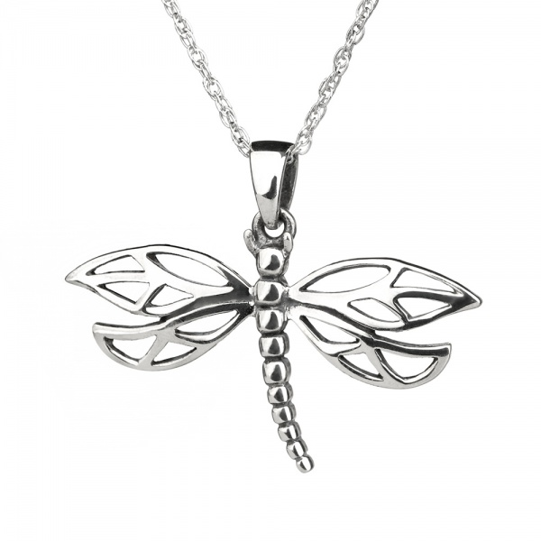 Outlander Dragonfly Sterling Silber
