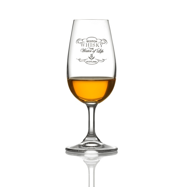 The Water of Life - Malt Masters' Kristall Whisky Tasting Glas aus Schottland