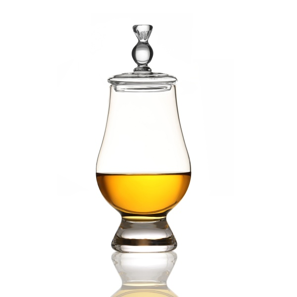 Angels' Share & Glencairn - Whisky Glas & Tasting Cap - schottische Distel